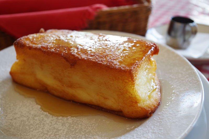 ふわトロ食感が絶妙のフレンチトースト
