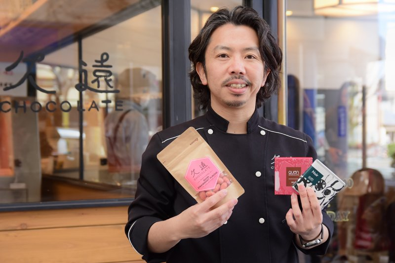 「久遠チョコレート」のプロジェクトリーダー、一般社団法人ラ・バルカグループの代表夏目浩次氏