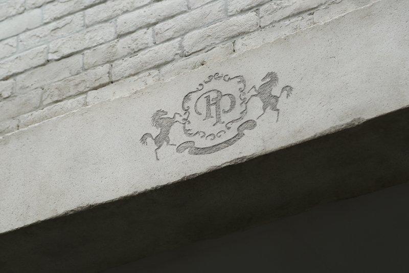 店名の「Pinco Picon」はエンブレムの馬の名前が由来
